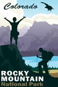 Rocky Mountain National Park, Colorado Travel Poster