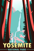 Yosemite National Park, California Travel Poster