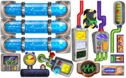 Spy Kids Peel-n-Stick Extra Switches and Gadgets Pack
