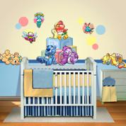 Baby Animals Peel-n-Stick Headboard #2