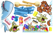 Soap and Germs Peel-n-Stick Pack