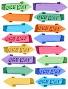 Directional Arrows Peel-n-Stick Pack #3