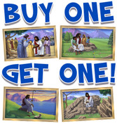 BOGO Jesus Small Framed Murals