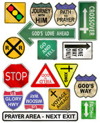 Big City Traffic Signs Peel and Stick Pack