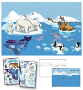 Glacier Island Mural Kit