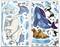 Glacier Island - Decal Sheets