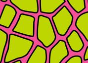 Giraffe Print (Green & Pink) Pattern