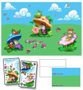 Baby Bug Garden Mural Kit