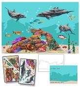 Realistic Undersea Mural Kit