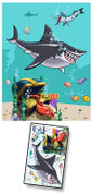 Cartoon Undersea Mural Kit Add-On #3