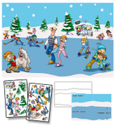 Winter Wonderland Mural Kit