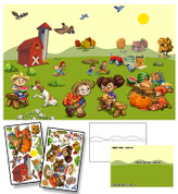 Farm Harvest Mural Kit