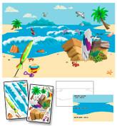 Paradise Island Mural Kit