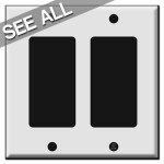 Decora Rocker Switch Plates