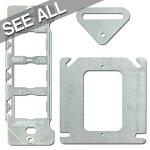 Switch Plate Straps & Brackets