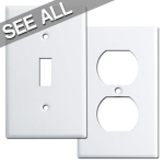White Switch Plates