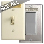 Switch Plate Labels & Engraving Tags
