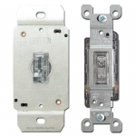 Clear Light Switches & Dimmers