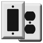 Deep Switch Plate & Outlet Covers