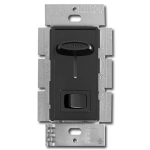 Black Ceiling Fan Control Switches
