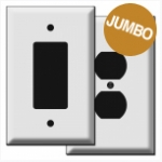 Oversized Switch Plates & Outlet Covers