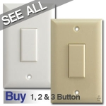 Touch-Plate Genesis Low Voltage Light Switches