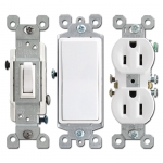White Electrical Outlets & Light Switches