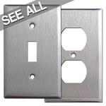 302 Stainless Steel Wall Plates - Popular Sizes