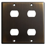 Oil Rubbed Bronze Despard Switch Plate Covers