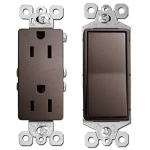 Bronze Electrical Outlets & Light Switches