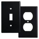 Black Switch Plates