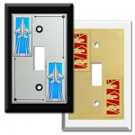 Transportation Light Switch Covers