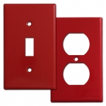 Red Switch Plates