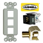 Hubbell Premise Modular Phone & Cable Jacks