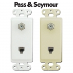 Pass & Seymour Phone & Cable TV Jacks