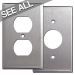 302 Stainless Steel Outlet Cover Switch Plates