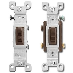 Brown Toggle Light Switches
