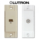 Lutron Phone Jack & Coax Cable TV Inserts