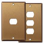 Satin Bronze Despard Light Switch Plates