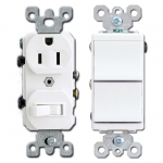 White Combo Switches & Outlets