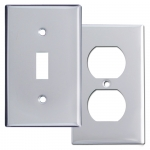Polished Chrome Switch Plates