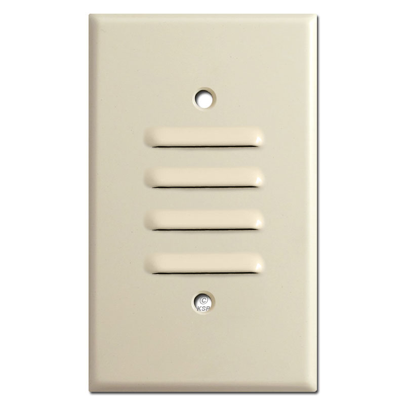 Buy louvered or slotted wall plate covers 1 - 3 gangs