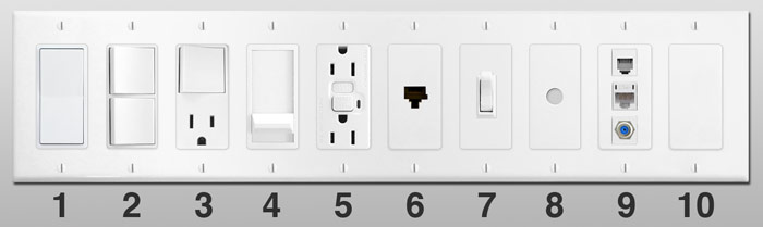 Light Switches Toggle Outlet Dimmer Switches For Wall