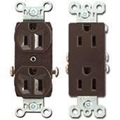 Brown Outlets Duplex vs Decorator