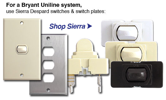 Bryant Uniline Low Voltage Parts