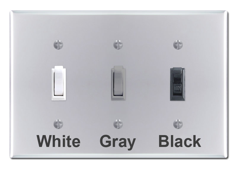 Polished Chrome Light Switch Plates, Outlet Covers, Rocker Wall Plates