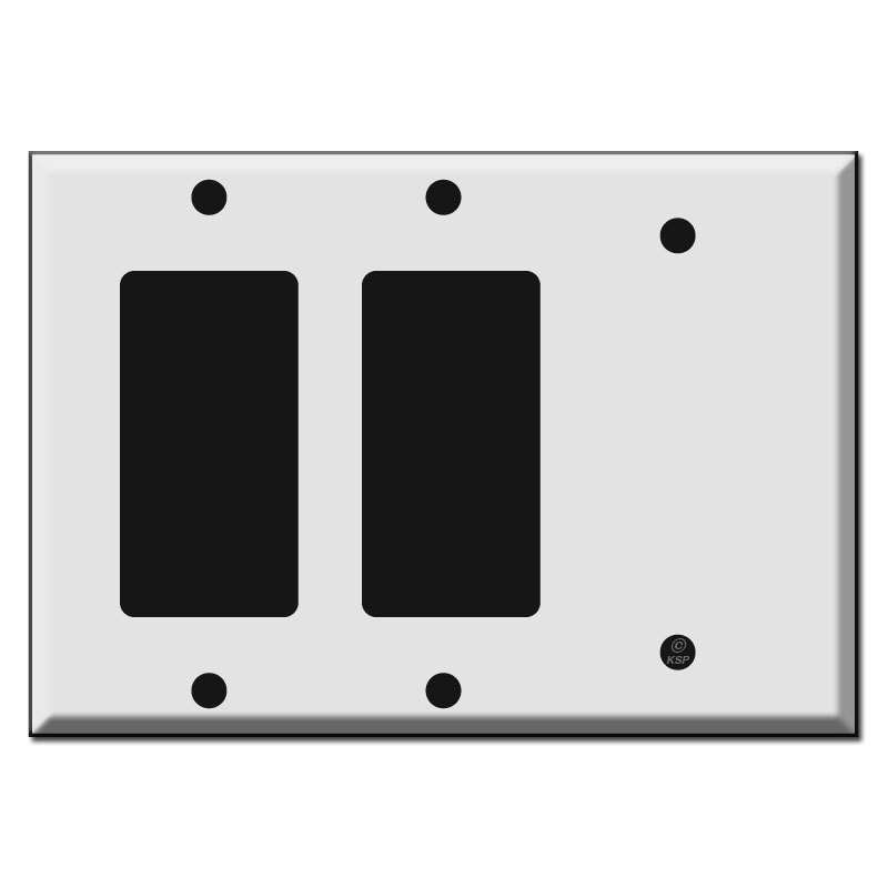 Combination Blank Switch Plate
