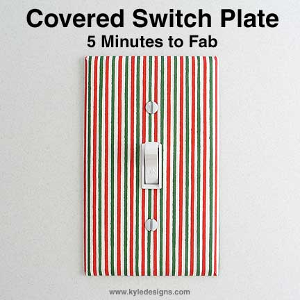 Covering Switch Plates