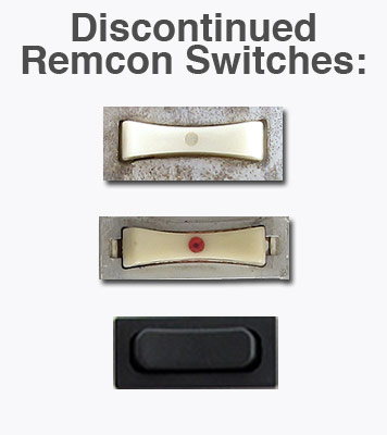 Discontinued Remcon Switches