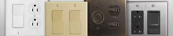 Electrical Switch & Outlet Finishes